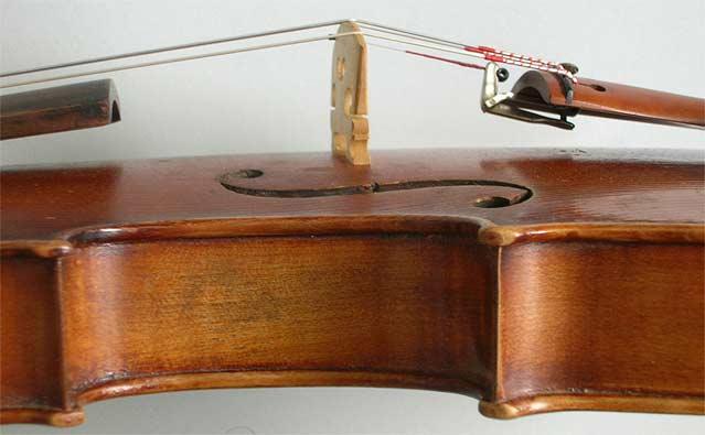 Violine Zargen